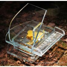 Crystal Piano Crystal Handicrafts Music Box