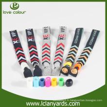 Promotion de l'entreprise prix bon marché poignets en tissu personnalisés échantillon gratuit