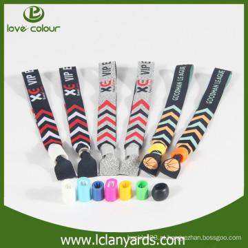Promoção da empresa barato preço pano personalizado wristbands amostra grátis