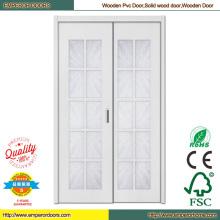 Portes de chambre de porte en bois Palastic rincer porte