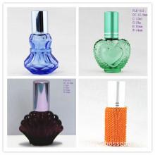 Small Perfume Glass Bottle with Aluminum Screw Cap (PLK-011, 012)