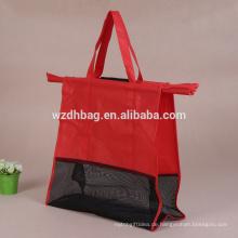 Fabrik Preis Heavy-Duty Non Woven Supermarkt Einkaufswagen Trolley Bag