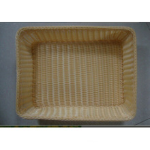 Plastic Rattan Basket; Storage Basket; Bread Basket; Food Basket