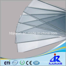Feuille rigide de PVC transparent pour le thermoformage