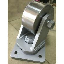 Super heavy duty forged steel caster wheels