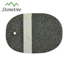 Bloque de cocina de granito de piedra Cocineros Chefs Tabla de cortar