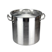 India Style Good Polishing Acero inoxidable Grande 98L Utensilios surtidos Sopa olla / olla caliente