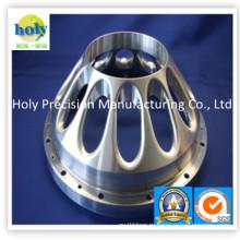 Изготовленный на заказ алюминия подвергая механической обработке части CNC