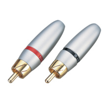 Male Aviation RCA Connector