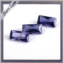 Belle forme de rectangle de taille diverse de briller pour des bijoux de mode