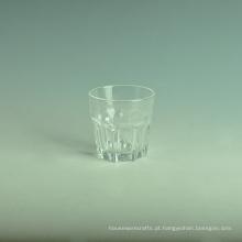 Copo de água de vidro Glasss Haped Copo de vidro de bebida