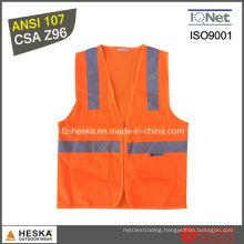 Protective High Visibility Workwear Hi Vis Safety Reflective Vest