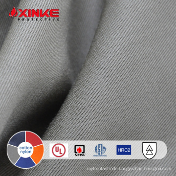 Cotton and Nylon twill fireproof heat resistant fabric for protective Uniform