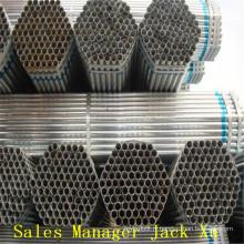 Bride de tuyau de bonne qualité Tuyau d'acier sans soudure de carbone galvanisé A106 / 53 en Chine