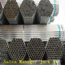 pipe flange good quality galvanized carbon seamless steel pipe A106/53 in china