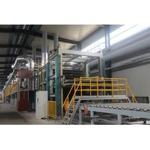 Industrial continuous drying furnace