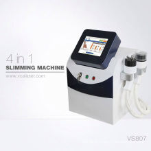 Cavitation ultrasonore portative d'utilisation à la maison ultra + beauté rf amincissant la machine