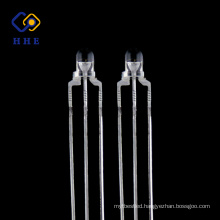 low power high brightness 3mm dual color led diode for indicator light