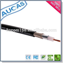 Belden rg58 rg59 rg6 CATV cable coaxial del CCTV / cable de mensajero siamés del commscope 75ohm