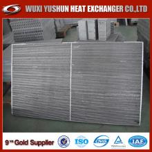 Cires de refroidissement d'huile à plaques et barres d'aluminium pour compresseur d'air