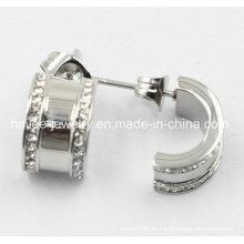 Pendiente de plata de la joyería de la manera del acero inoxidable