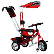 Enfants bébé Tricycle avec poignée barre