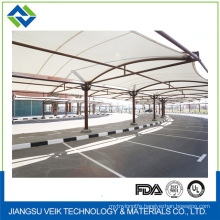 Fabric covered buildings 0.6mm thickness teflon architectural membrane