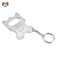 Porte-clés ouvre-bouteille gravé personnalisé en vrac