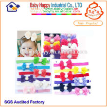 Wholesale Top selling Latest Fashion baby flower headbands