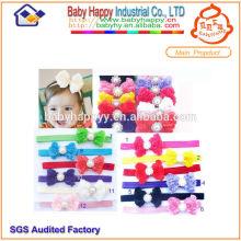 Оптовые топ-продажи новейших модных детских цветных повязок