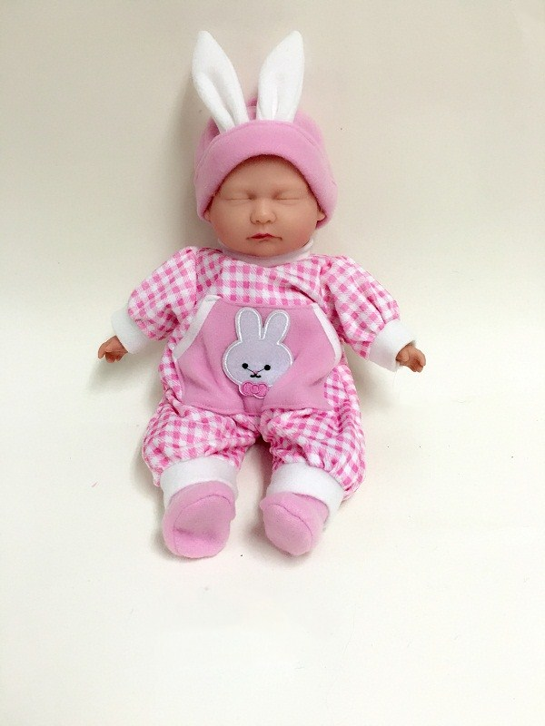 Cute Clothes Baby Vinyl Doll