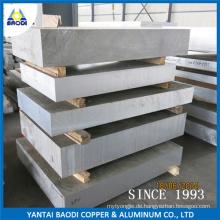 Gute Zerspanbarkeit Aluminium-Dickplatte (6061)