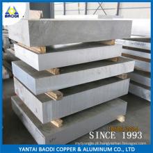 Chapa de alumínio e chapa de aço, peças de alumínio personalizado folha