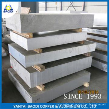Aluminium-Blech- & Platten-Auflage, kundenspezifische Aluminium-Blechteile