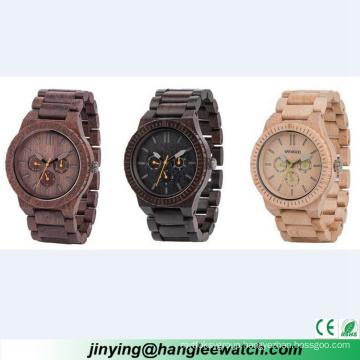 OEM Multifunctional Wooden Watch High-Grade Wood Table
