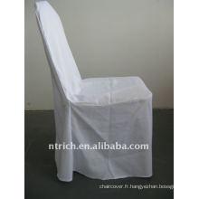 housse de chaise de salle de banquet standard de couleur blanche, CTV551