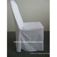 white colour standard banquet hall chair cover,CTV551