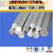 China barra sextavada de aço inoxidável 316L
