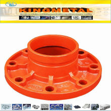 FM&UL Approved Ductile Iron Pn16 Groove Flange Adaptor