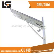 Vente chaude nouvelle conception en aluminium logement de lumière vide de moulage mécanique sous pression pour le réverbère solaire actionné par LED