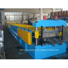 Anpassen Qualität CE Certificated Metall Stahl Strukturelle Dach Deck Boden Decking Roll Forming Machine