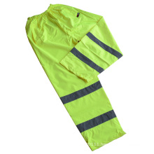 Reflective Strip Waterproof 300d Oxford High Visibility Safety Pants (YKY2810)