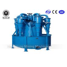 Séparateur d'hydrocyclone de polyuréthane de laboratoire pour le minerai minéral