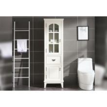 Armoires de rangement murales pour salle de bain avec vanité