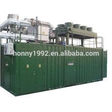 1000kW BioGas Genset del generador del gasificador de madera