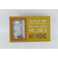 Silk Screen moldura de MDF colorido para Home Deco
