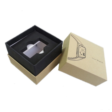 Base and Lid Rigid Watch Box