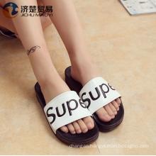 2017 Pvc soft bottom slippers female summer home indoor bathroom slippers