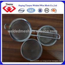 Cesta de filtro de malla de acero inoxidable 316L