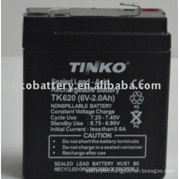 reliable and experienced TINKO 6v lead acid battery